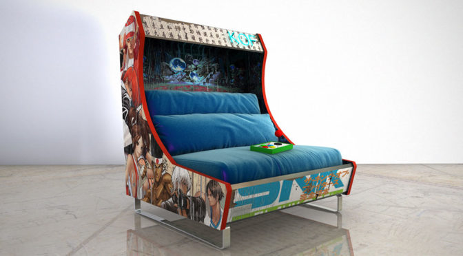 Custom Arcade Sofa by Harow