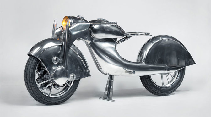This Is A Front-Wheel Drive Motorcycle And It Look Absolutely Gorgeous!