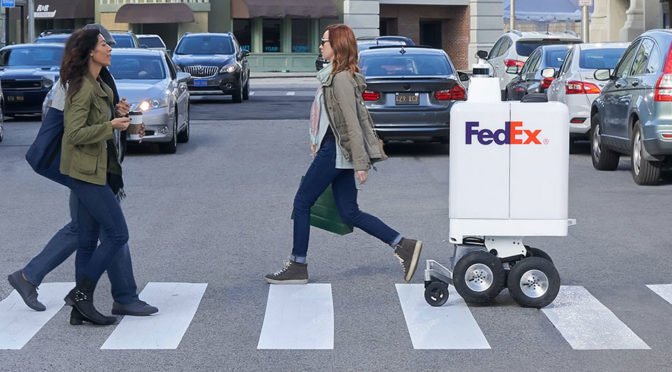 FedEx Autonomous Delivery Bot Will Make Same Day Door-to-Door Delivery