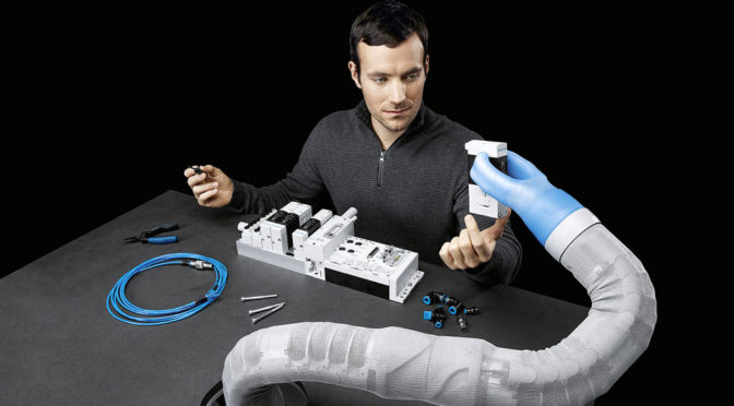 Festo BionicSoftArm Robotic Arm