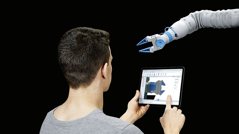 Festo BionicSoftArm Robotic Arm