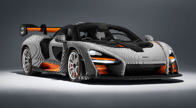 Full-scale LEGO McLaren Senna Road Car