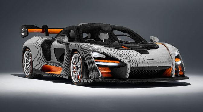 Life-size LEGO McLaren Senna Has 400K Bricks, Is Heavier Than The Real Car