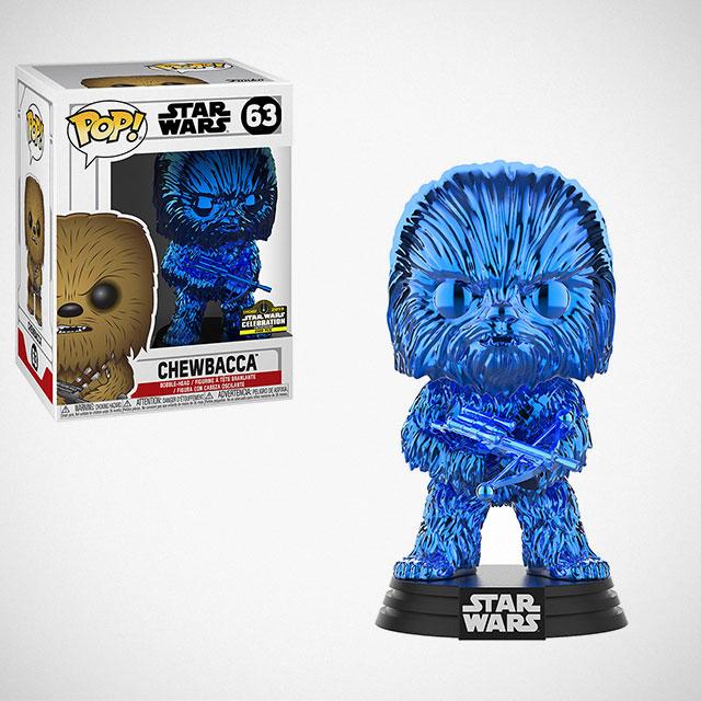 Funko POP! Chrome Blue Chewbacca Figure