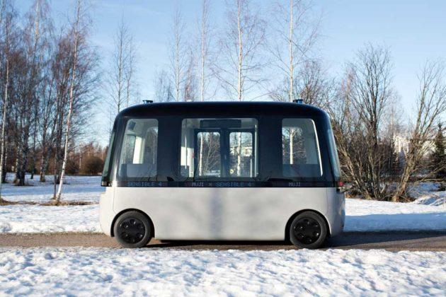 GACHA Shuttle Bus Robo Taxi