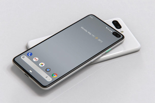 Google Pixel 4 and Pixel 4 XL Rendered