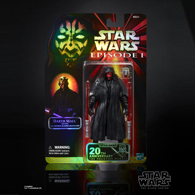 Hasbro 6-inch Black Series Darth Maul Figure