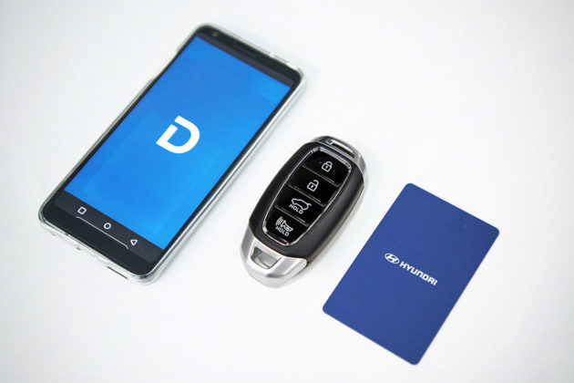 Hyundai Smartphone-based Digital Key