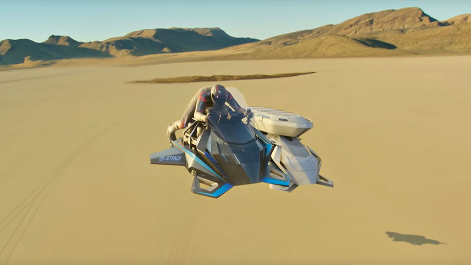 JPA The Speeder Flying Motorcycle