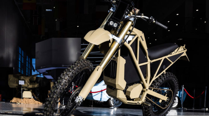 Here Are The Details And Images Of The Kalashnikov Military Electric Bike
