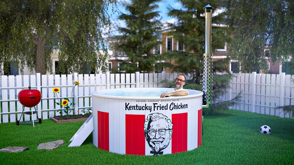 Kentucky Fried Hot Tub