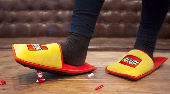 LEGO Anti-LEGO Slippers