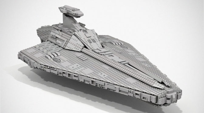 LEGO MOC Acclamator-class Assault Ship