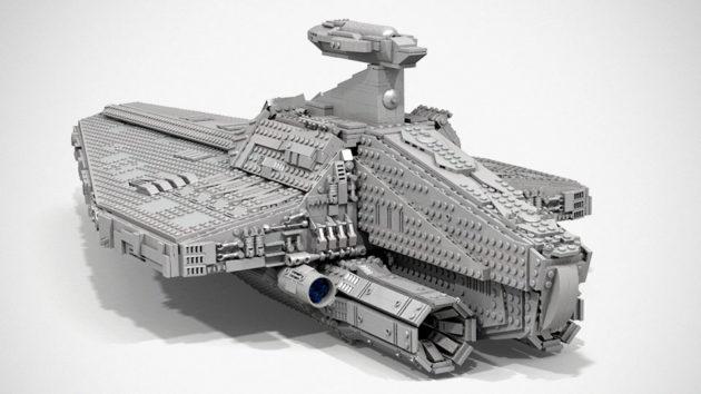 LEGO MOC Acclamator-class Assault Ship