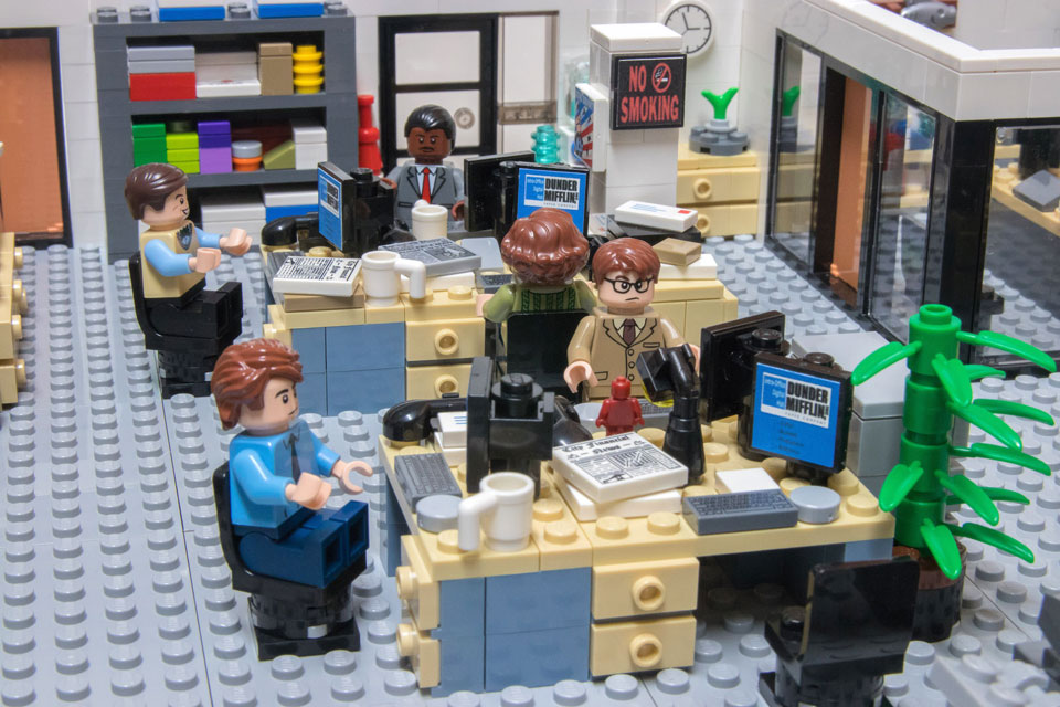 LEGO MOC The Office - NBC Set