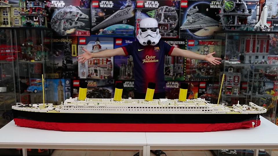 LEGO MOC Titanic by Brick Builder