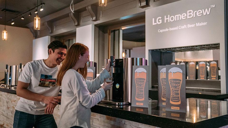 LG HomeBrew at SXSW 2019