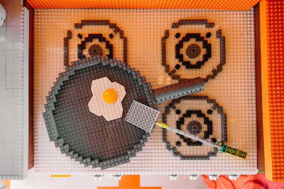 Largest LEGO Brick Caravan 2018