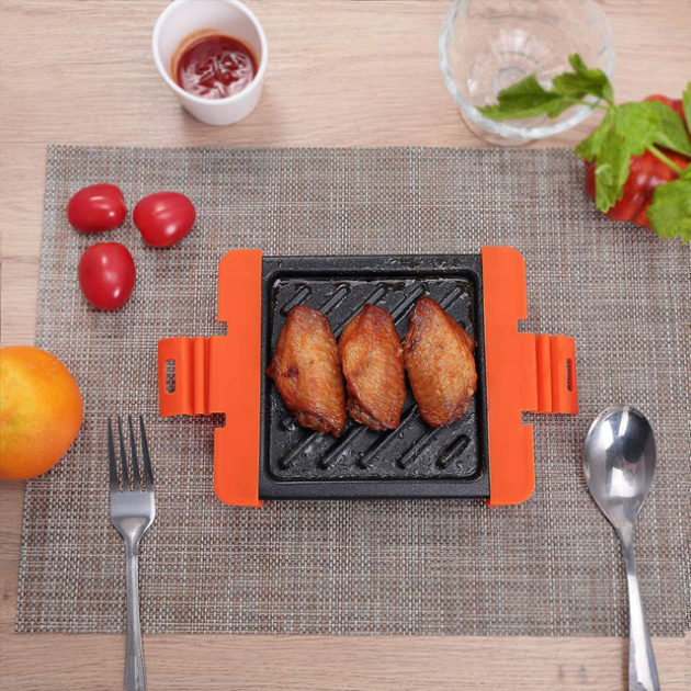 Microwave Panini Press Sandwich Maker