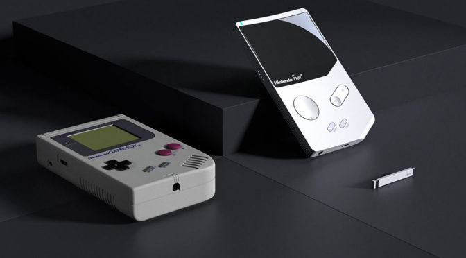 Nintendo Flex Concept by YJ Yoon