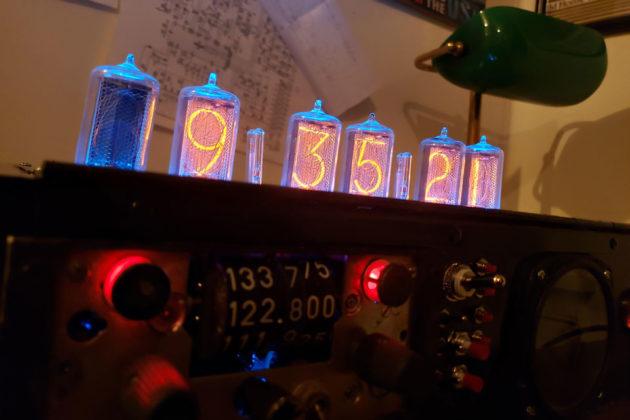 Nixie Tube Clock Bluetooth Speaker