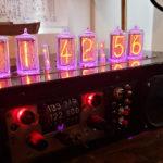 Someone DIY-ed A Freaking Cool Nixie Tube Clock Bluetooth Speaker
