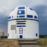 Professor Turned Observatory Into A Giant R2-D2 And It Is Brilliant!