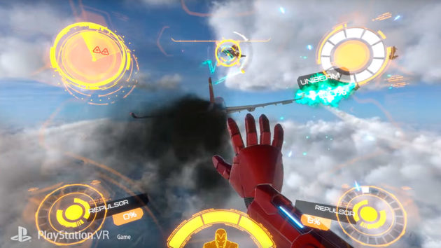 Playstation VR Marvel Iron Man VR Video Game