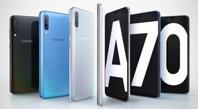 Samsung Unveiled New Galaxy A70, Announced S10 5G Availability