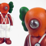 KAWS Companion As Ooompa Loompas Robot Art Is Strangely Attractive