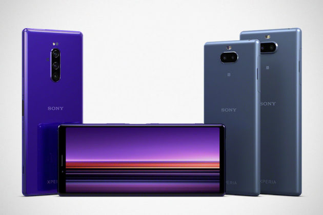Sony Android Smartphones MWC 2019
