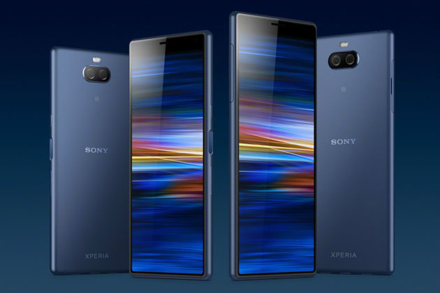 Sony Xperia 10 and 10 Plus Smartphones