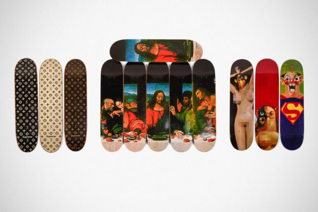 Supreme Skateboards Sold For $800000
