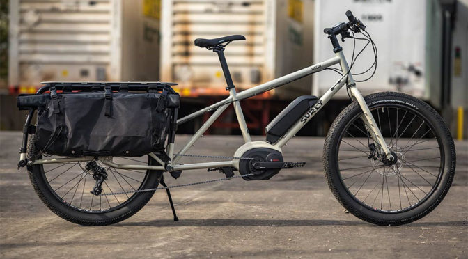 Surly Big Easy Electric Cargo Bike Is The Big Rig Of The Cargo Bike World