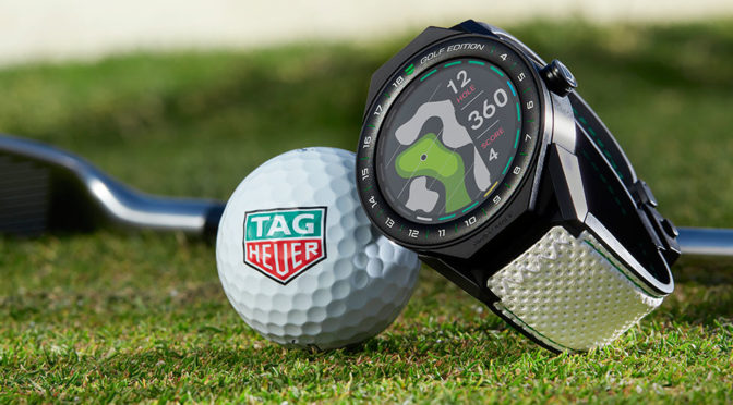 "TAG Heuer Adds A ""Golf Edition"" To Its Connected Modular 45 Line Up"