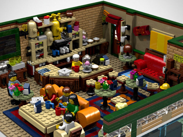LEGO Ideas The Central Perk Coffee of Friends