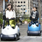 Tokyo Trials High-tech  Scooters For Tourists In Marunouchi District
