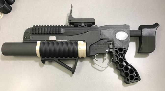U.S. Army 3D Printed Grenade Launcher