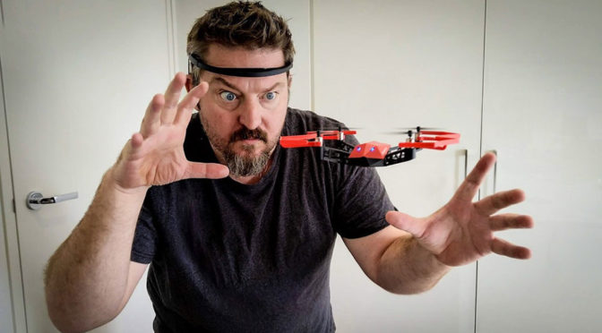 UDrone Mind-controlled Drone