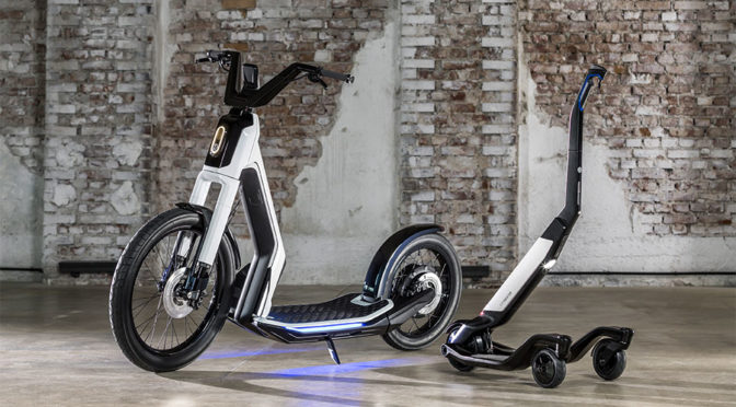 Volkswagen Electric Scooters Geneva 2019