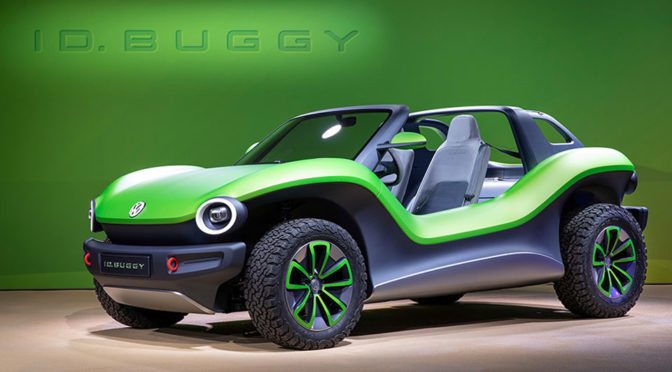 Volkswagen All-Electric ID. Buggy, Passat Variant R-Line And More