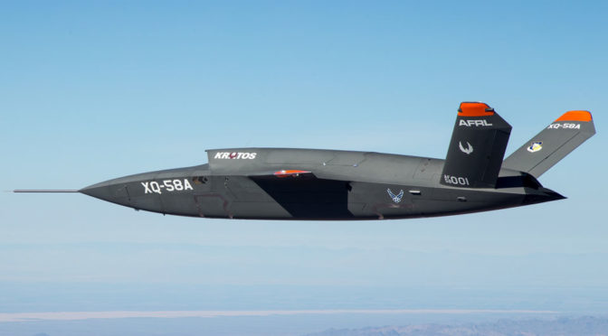 XQ-58A Valkyrie Unmanned Fighter Jet