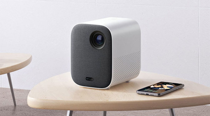 Xiaomi Mijia Projector Looks Like A Mid-century Bookshelf Speaker