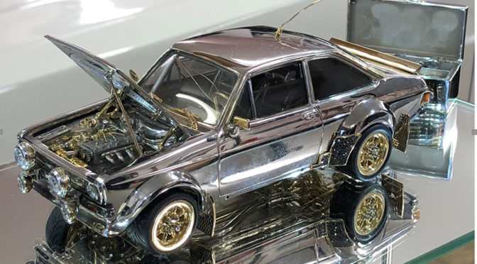 This 1:25 Scale Classic Ford Escort Model Will Likely Fetch Way More Than A Real Mustang