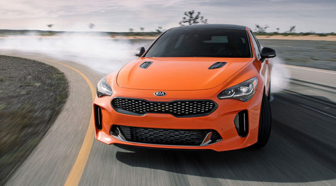 2019 KIA Stinger GTS Sports Sedan