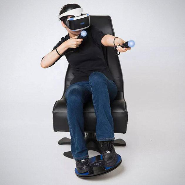 3DRudder Foot Motion Controller for Playstation VR