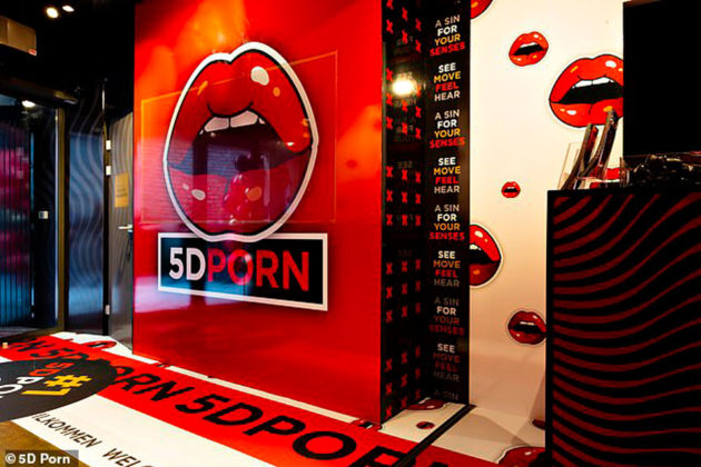 5D Porn Cinema Opens In Amsterdam