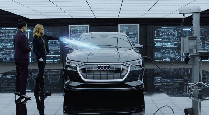S.H.I.E.L.D. Agent Bring <em>Captain Marvel</em> Up To Speed In This Funny Audi Ad