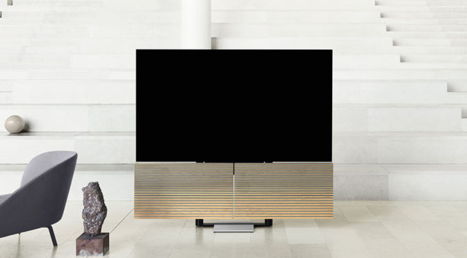 Bang & Olufsen's New TV Has Speakers That Unfold To Reveal A 77-inch TV