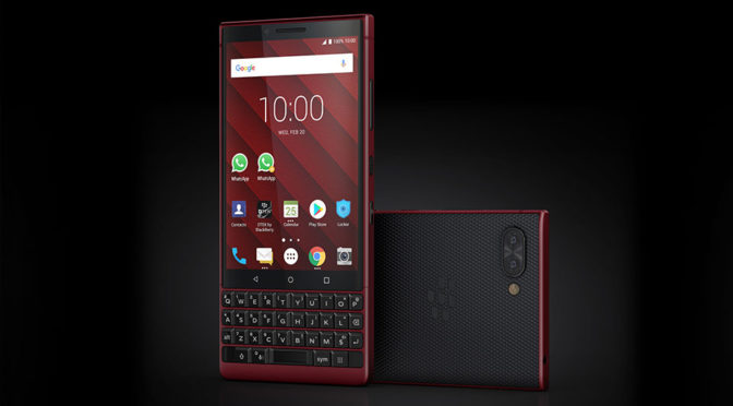 BlackBerry KEY2 Red Edition Smartphone